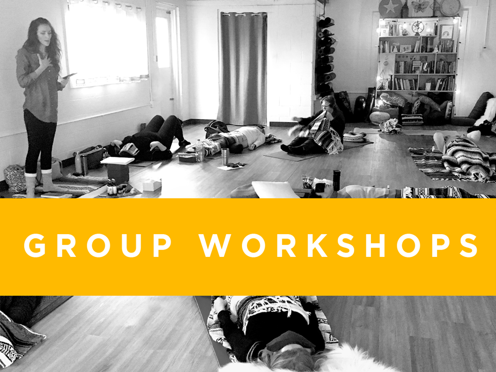 Breathwork Healing Groups Workshops