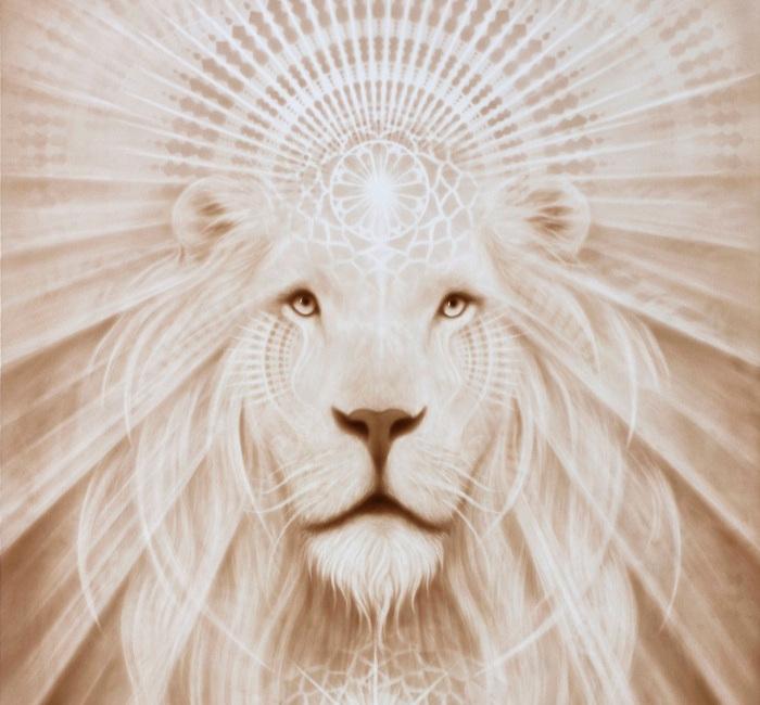 """Spirit Lion"" by A. Andrew Gonzalez"