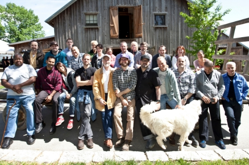 Chefs & Activists at Woodland Farms in Goshen, KY - May 2013 (Photo Credit: Marty Pearl)