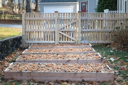 Our Winterized Raised Beds