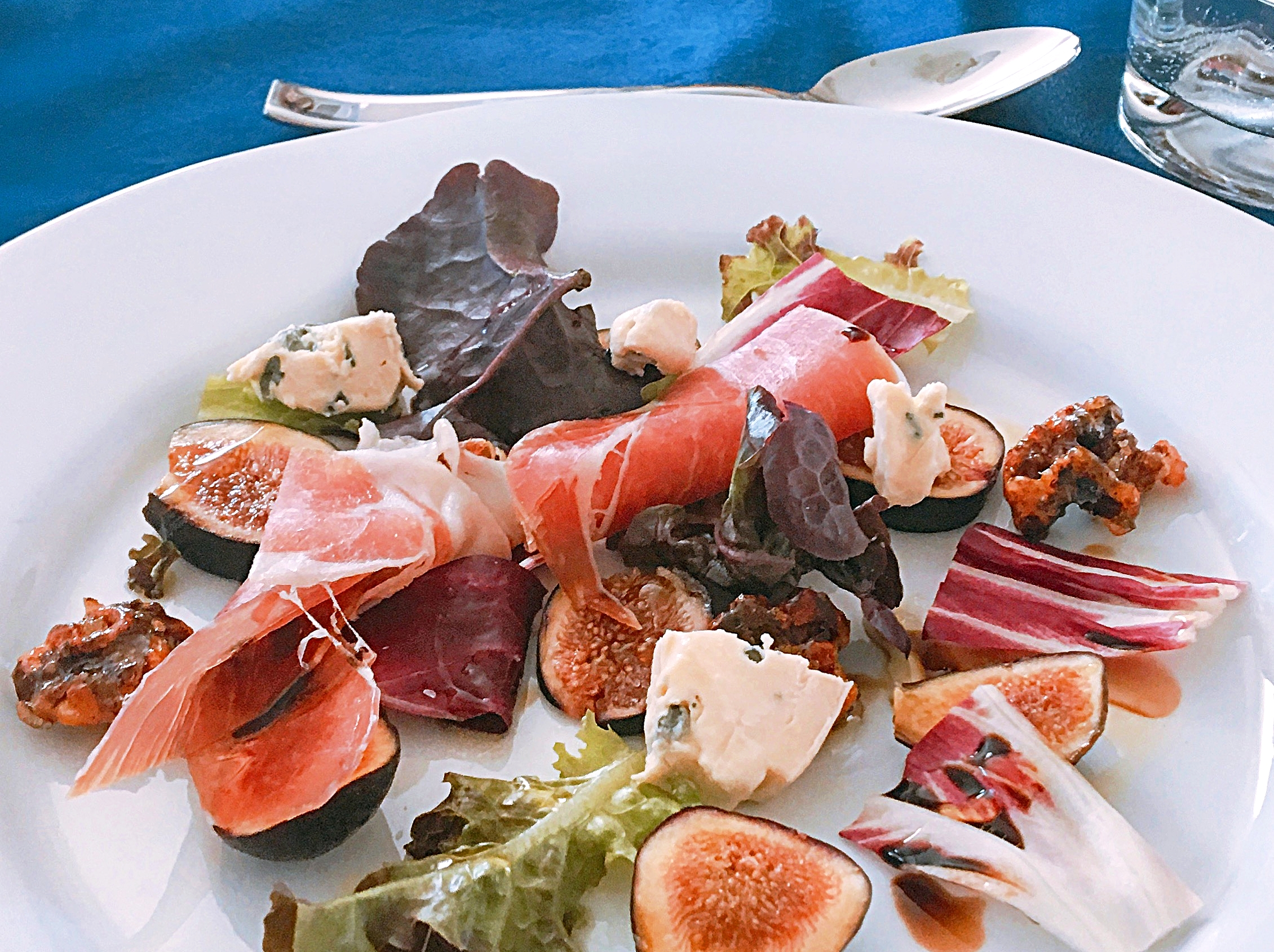Fig & Prosciutto Salad - Fitness Challenge Brunch