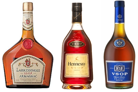 French and American Brandies