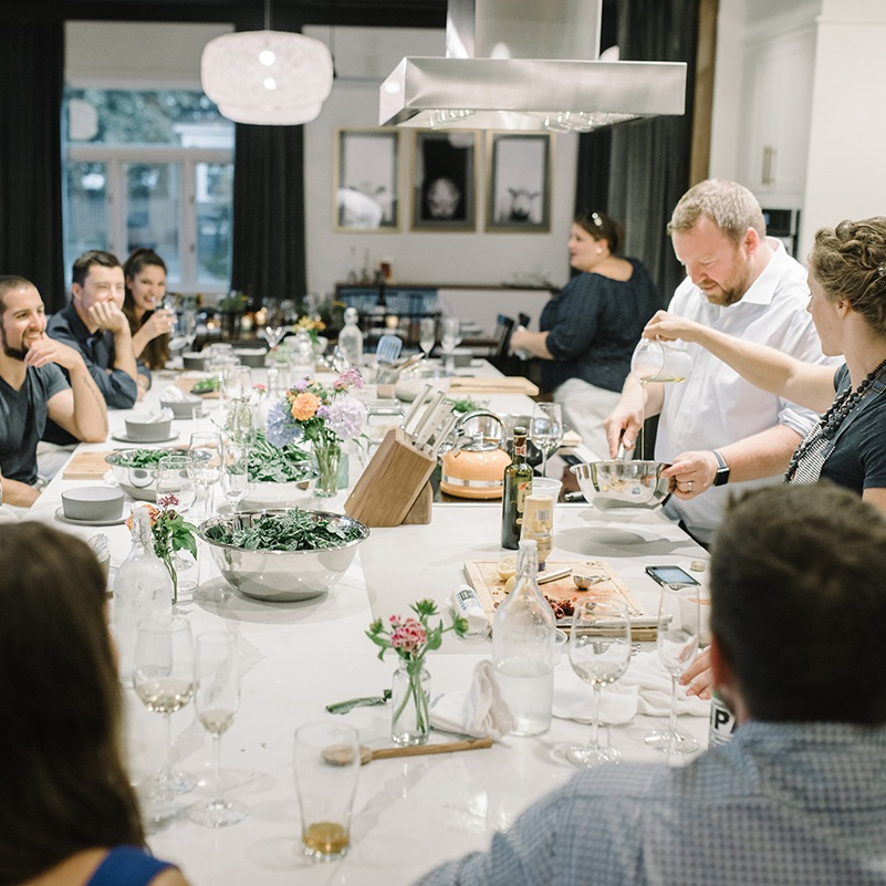 Enjoy your next private event in our unique culinary studio.
