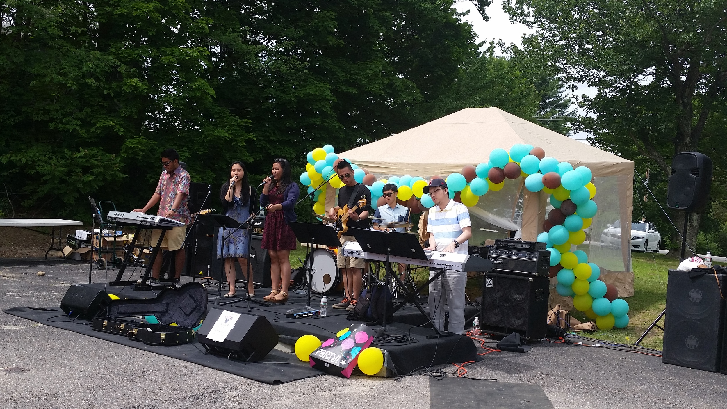 Played at City Blessing Fiesta, Rochester NH (2015)