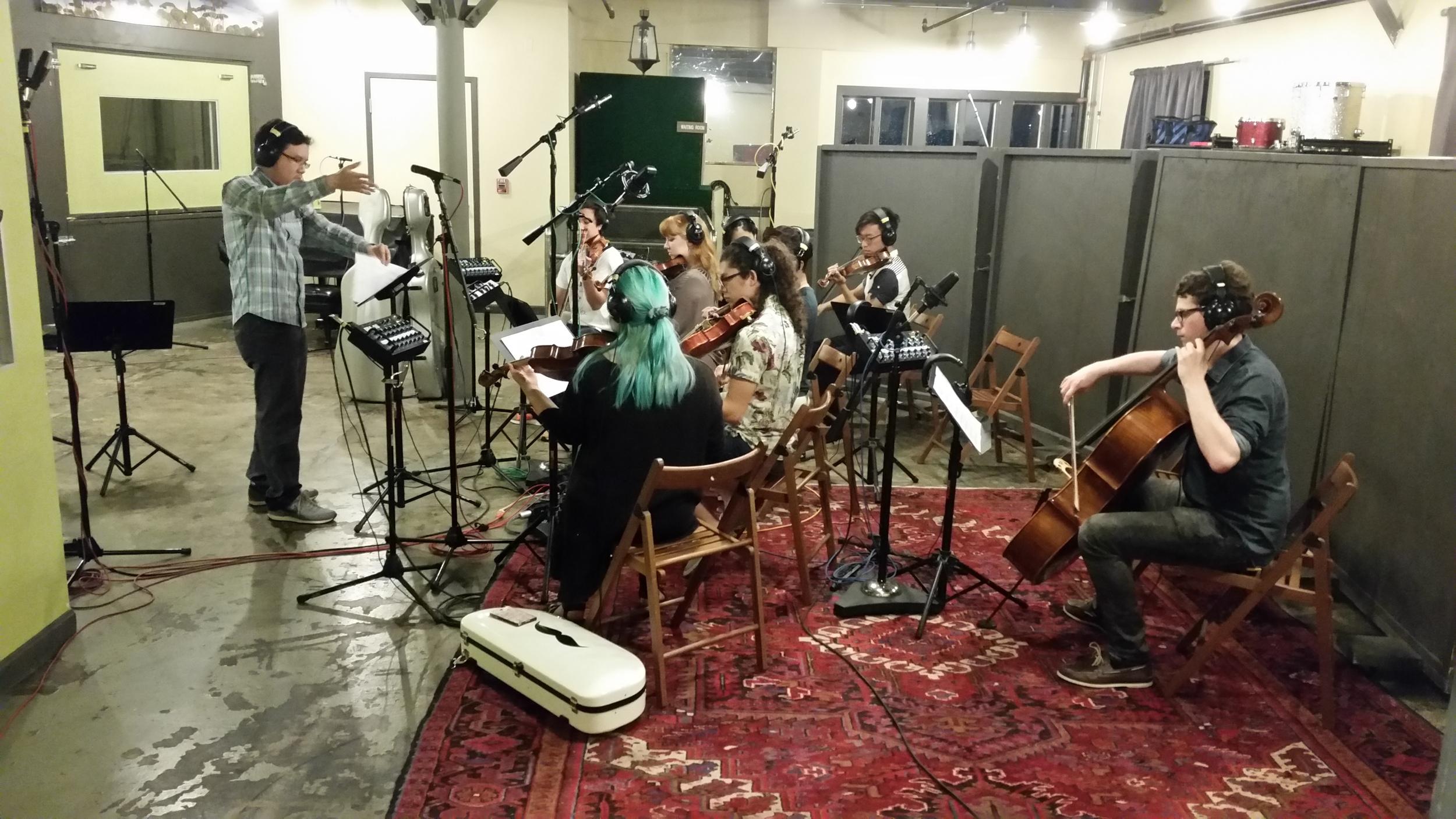 "Conducted my strings arrangement of ""Kecewa"", EP by Daniel Napitupulu"