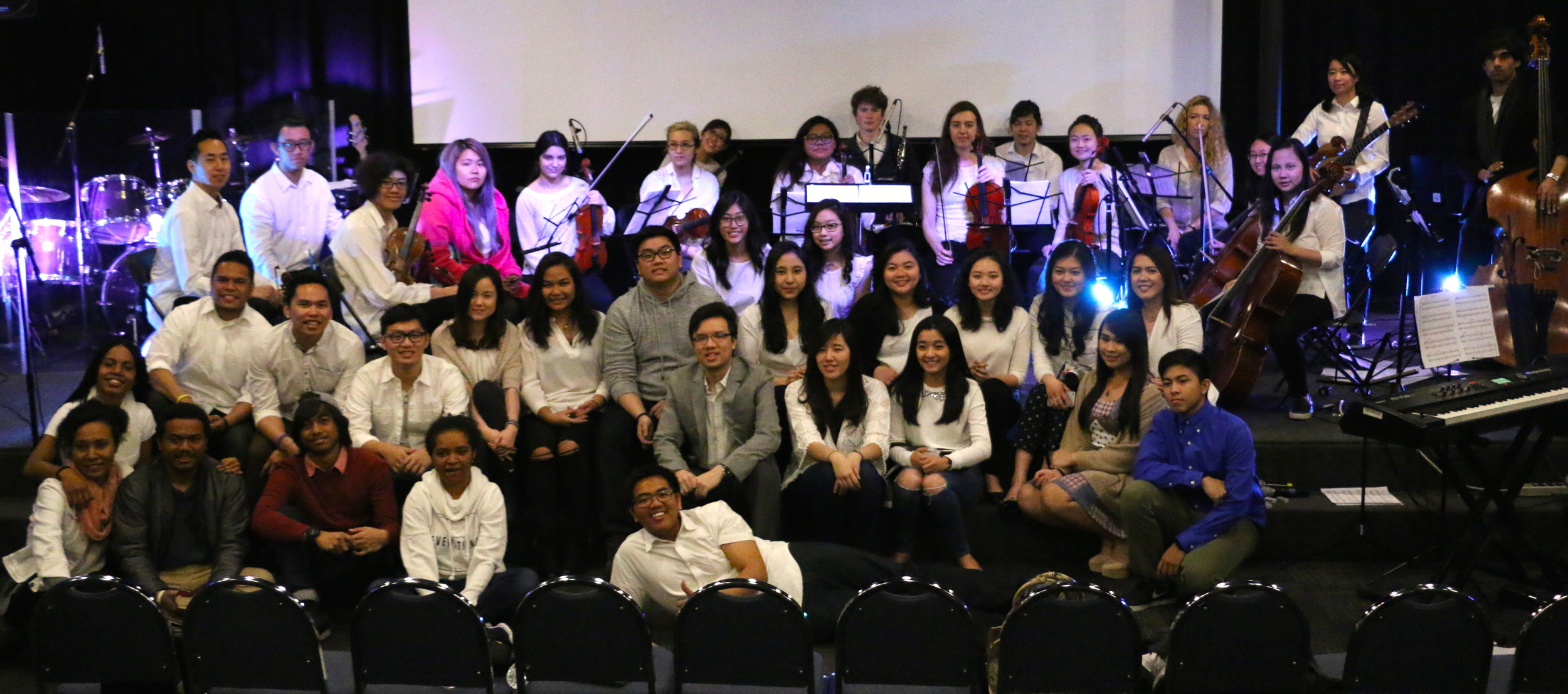 Easter Sunday Service 2016 with some Berklee Students and NECBC Choir