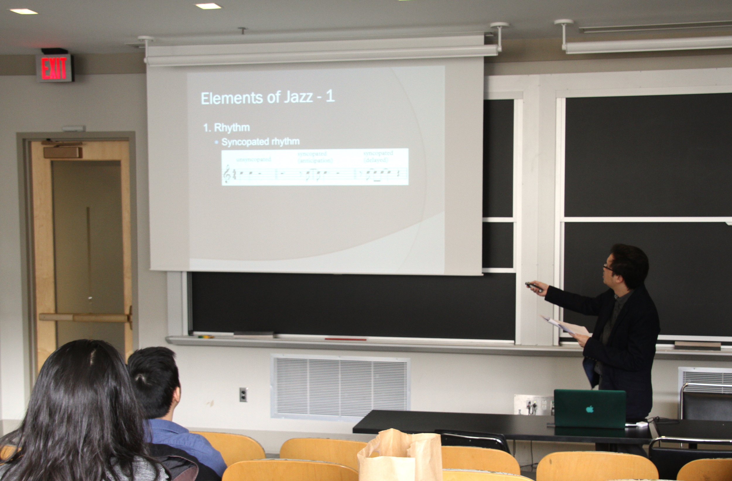 """Spoke at Permias Massachusetts Lecture Series """"Demystifying Jazz"""" at MIT, March 26, 2016"""