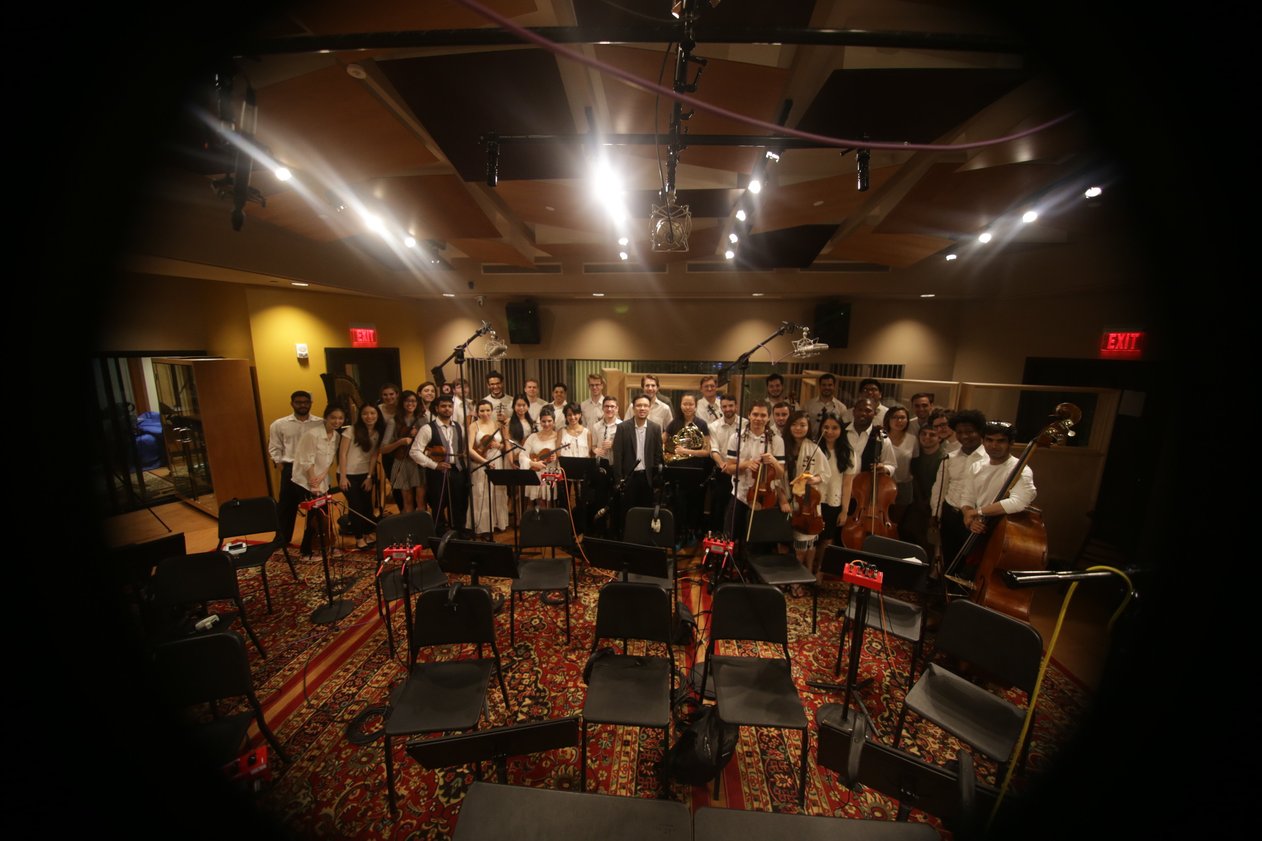 Recorded my composition & arrangement with some of Berklee's finest.