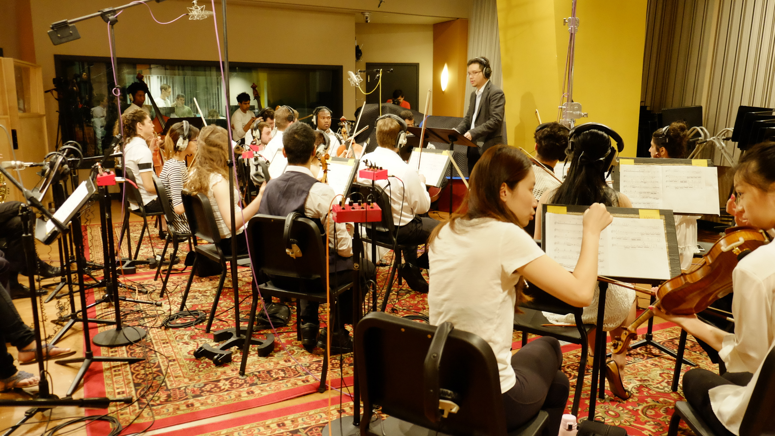 Recorded some of my composition & arrangement at Berklee studio 1