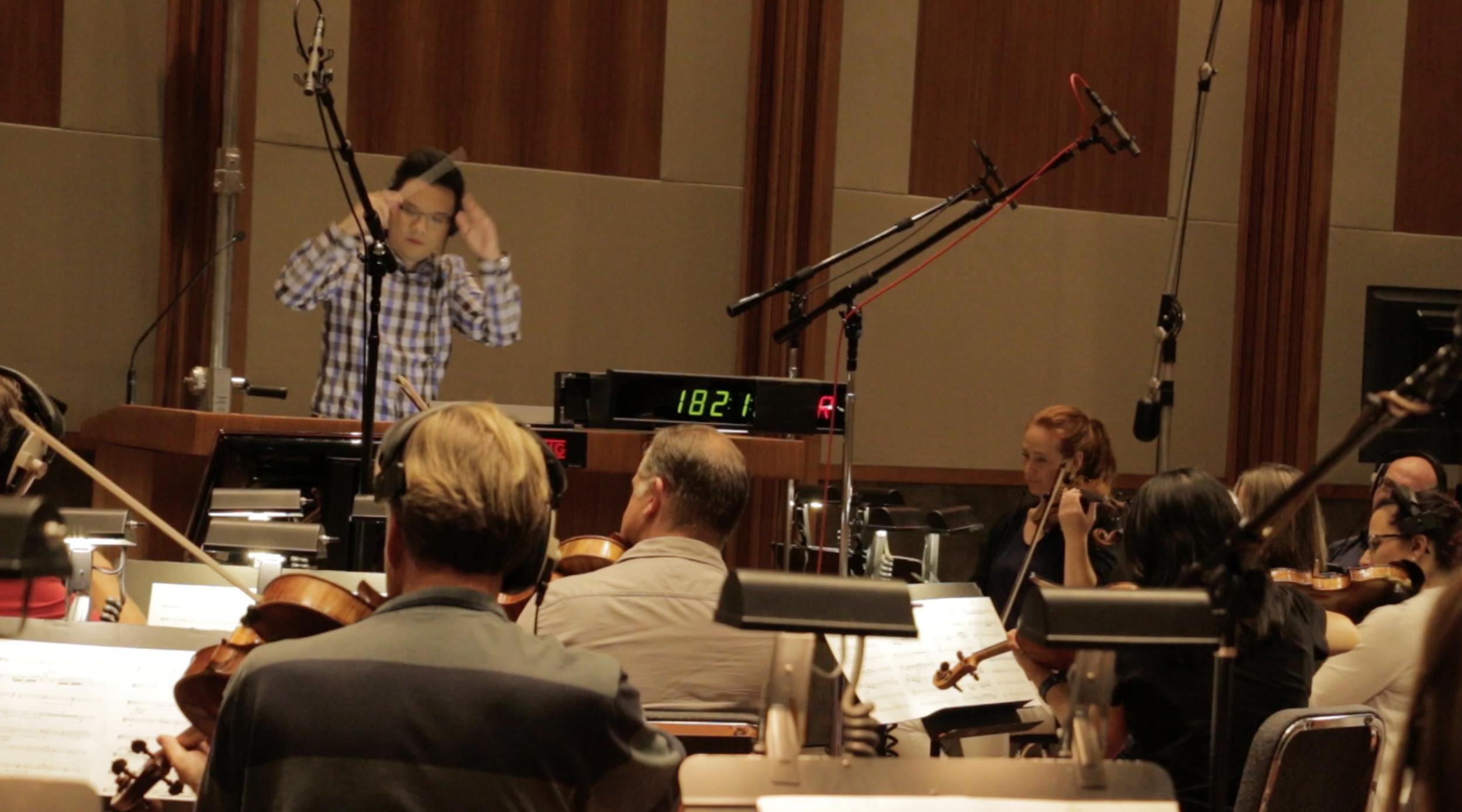 Recording at The Bridge-Glendale, CA