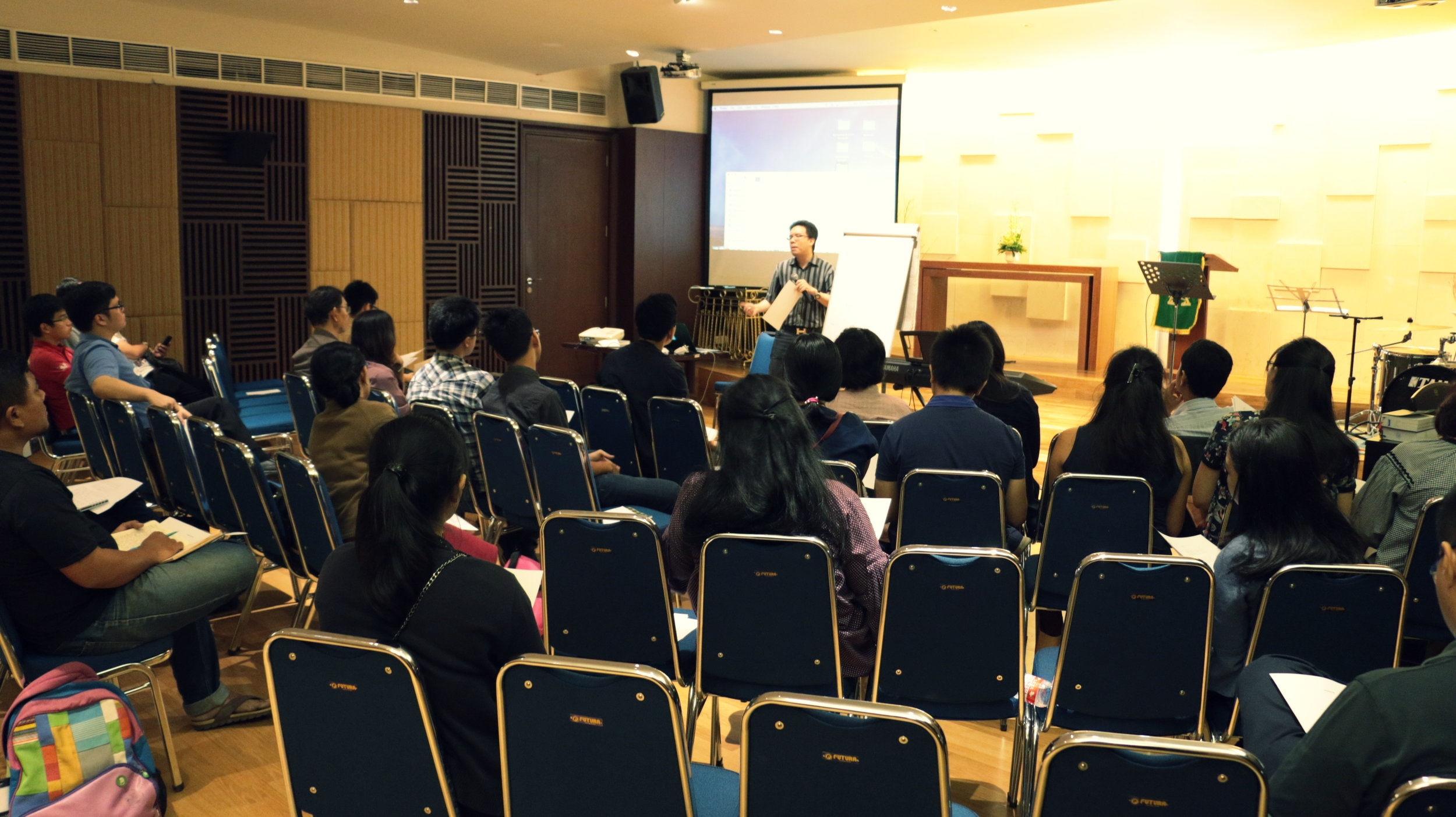 Arranging Masterclass at GKI Samanhudi