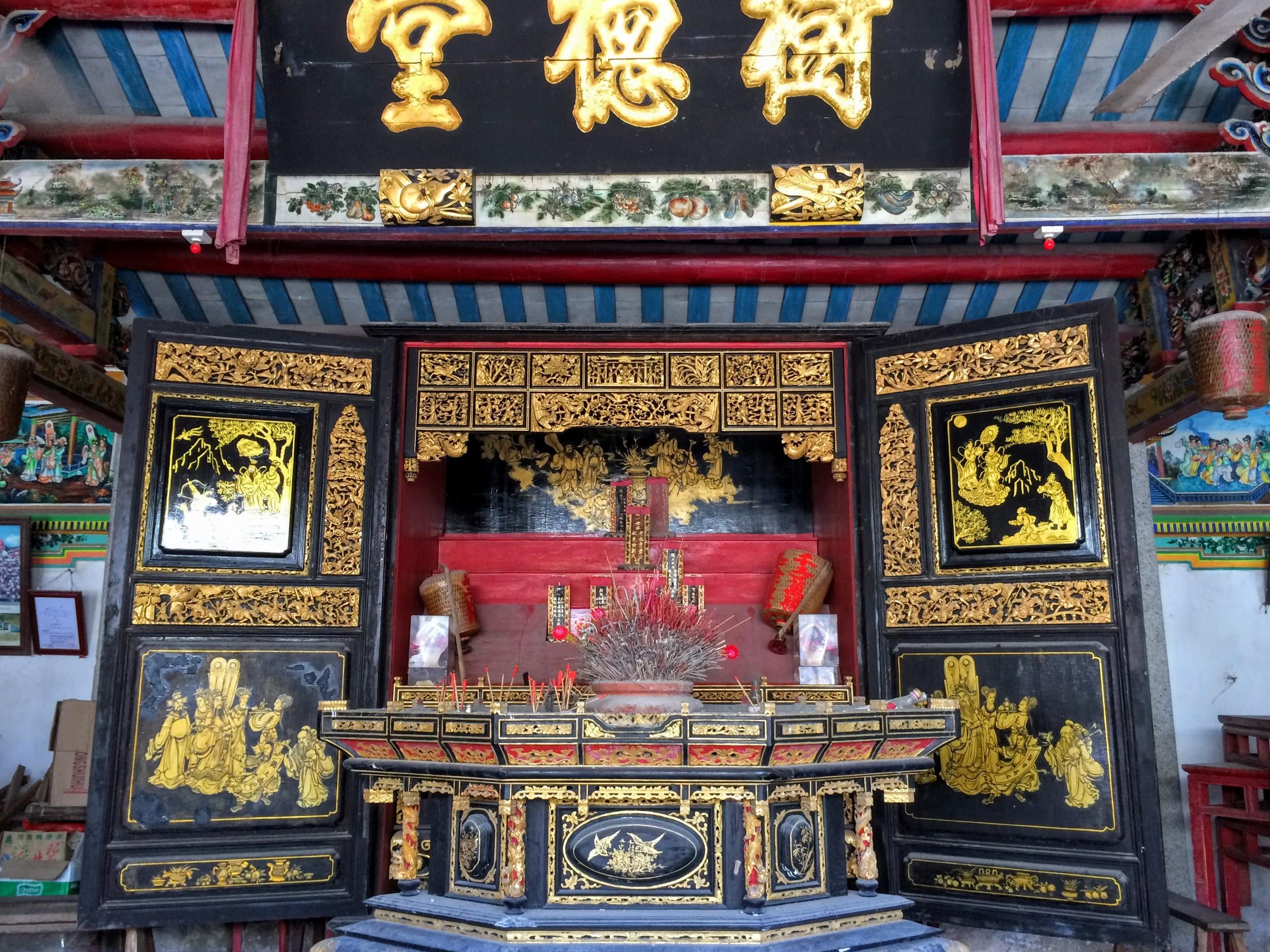beautiful village altar
