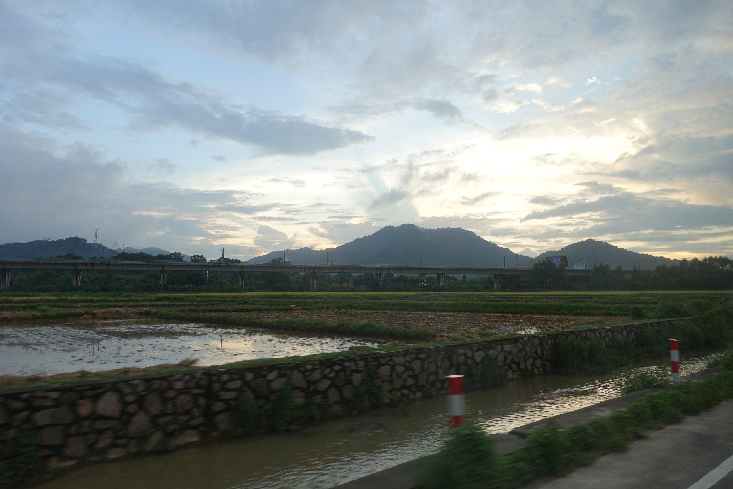 Zhongshan skyline