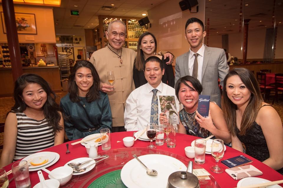 (L-R) Candace Hsu, Isabella Giannini, leader Al Cheng, Kona Yee-Wong, Nick Lau, leader Derek Lee, Diann Leo-Omine, Amanda Liu (not pictured- Jeremy Chin, Carol Lau, Robyn Lau)