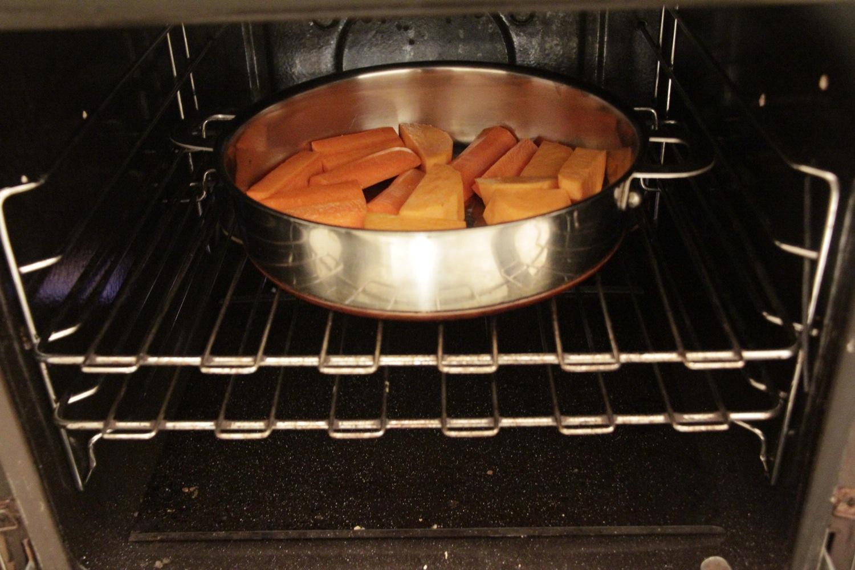 Recipe for one - roasting vegetables