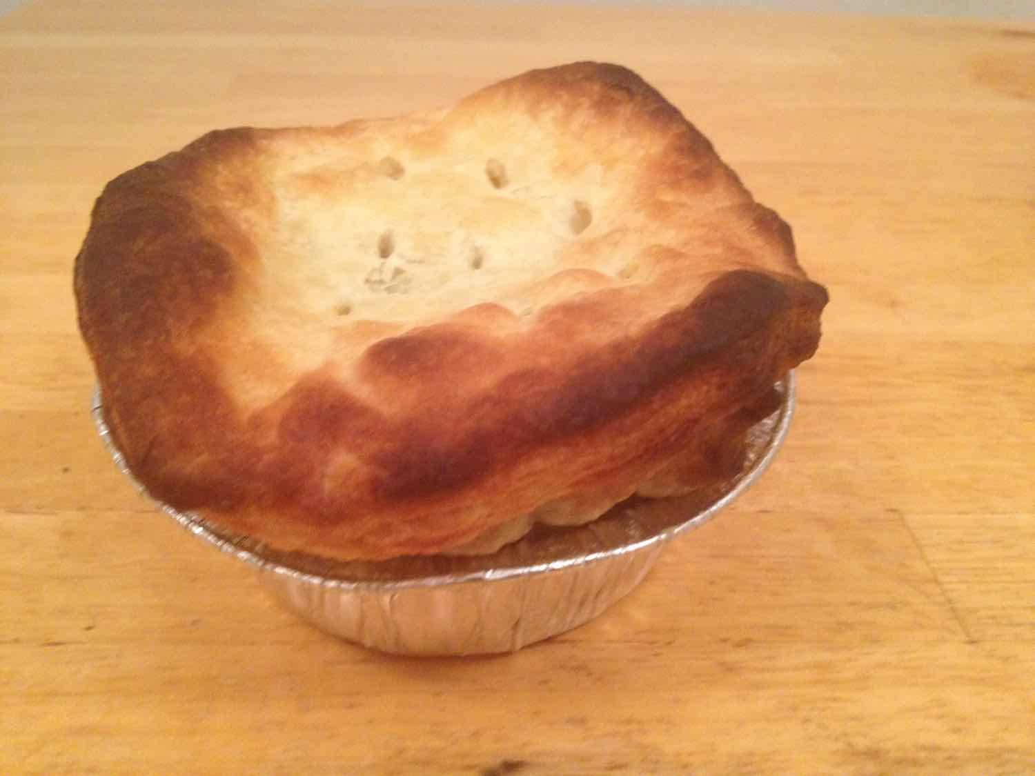 Lamb pie for one - TOTALLY worth it!