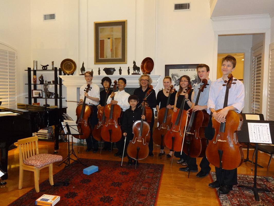 2015 Cello Clinic
