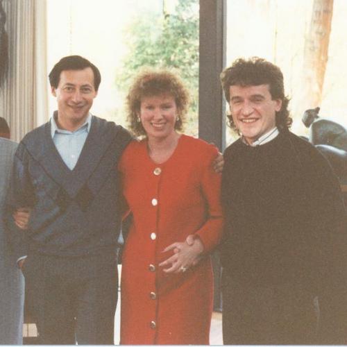 With Vladimir Spivakov and Elena Osadchy