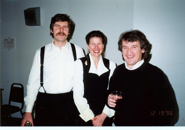 With David and Mary Brown