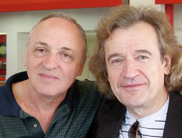 With pianist Vadim Monastyrsky