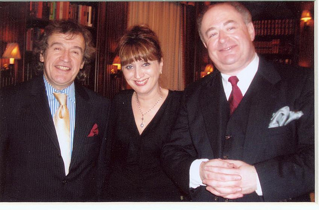 With pianist Baya Kakouberi and violinist Ilya Kaler