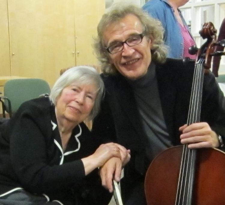 With Raisa Kolesnikov
