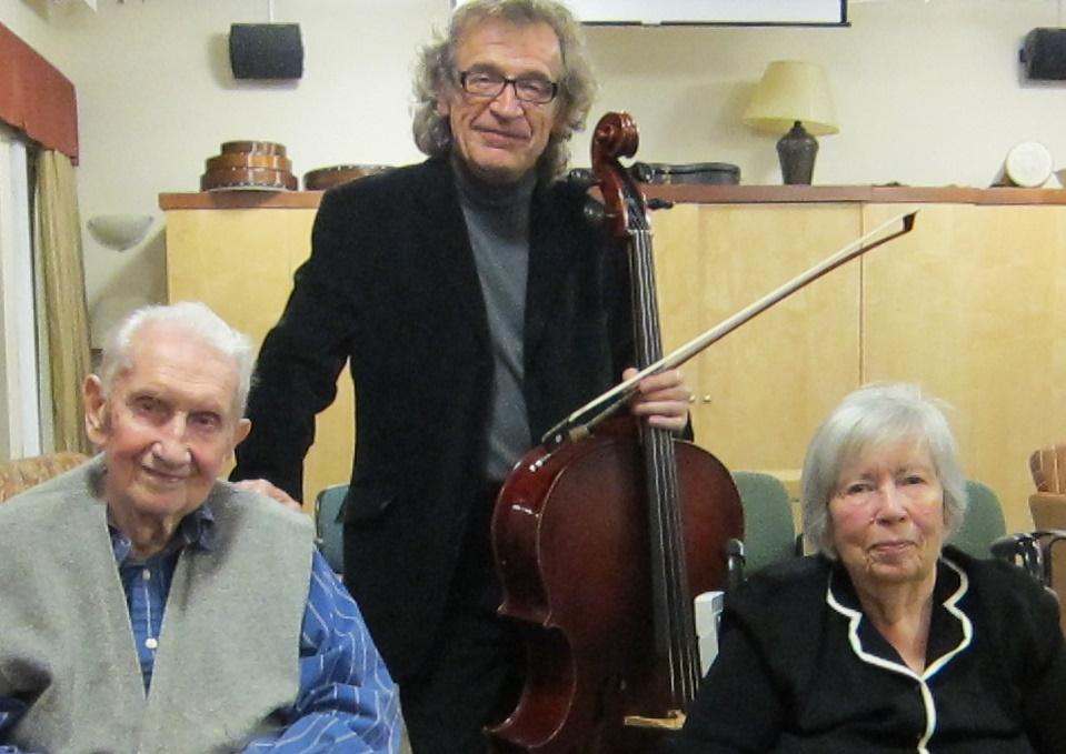 With Nikolai and Raisa Kolesnikov
