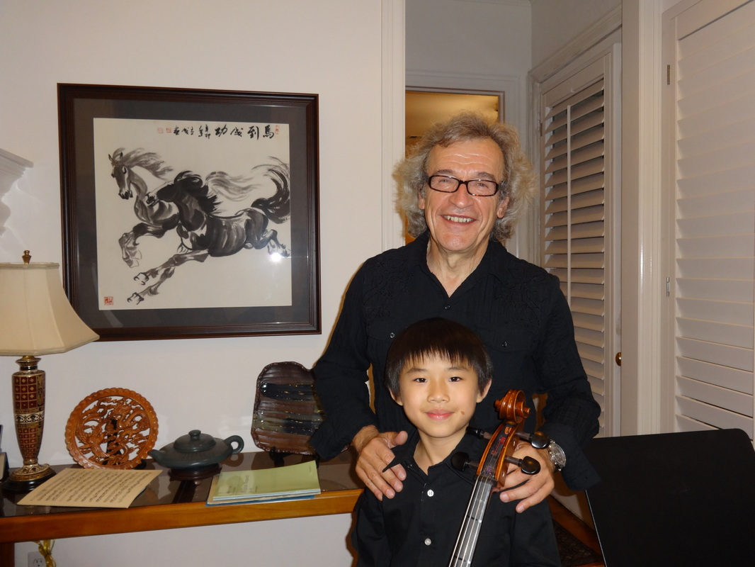 2014 Cello Clinic, with Darren Chan