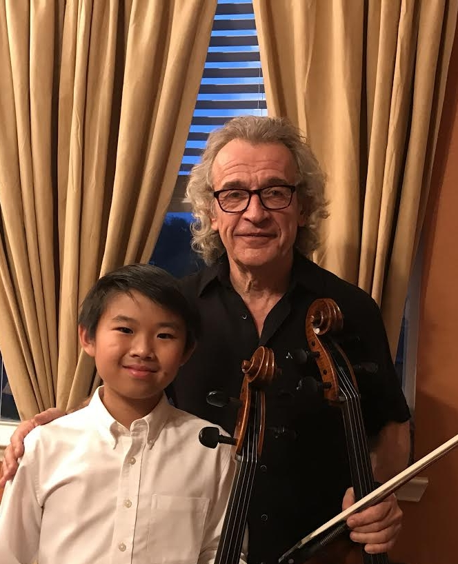 2017 Cello Clinic, with Darren Chan