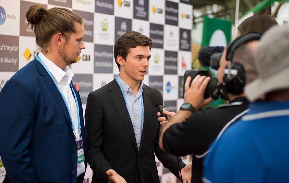 NIC MARCHESI  - 2016 YOUNG AUSTRALIAN OF THE YEAR DISCOVERED VIA OUR CAMPAIGN.
