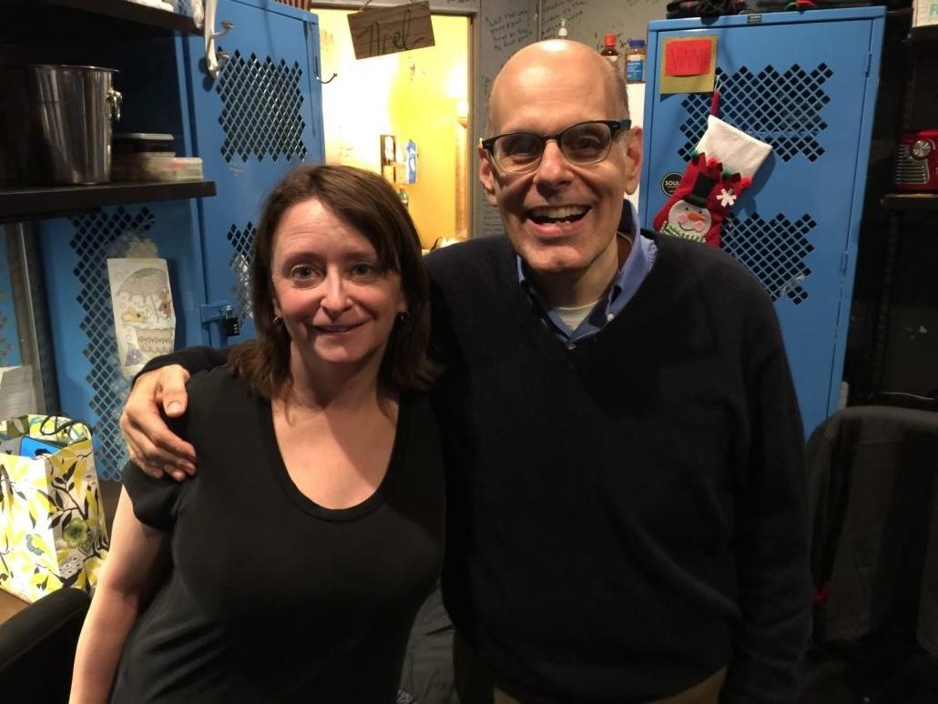 Rachel Dratch and Jimmy Carrane
