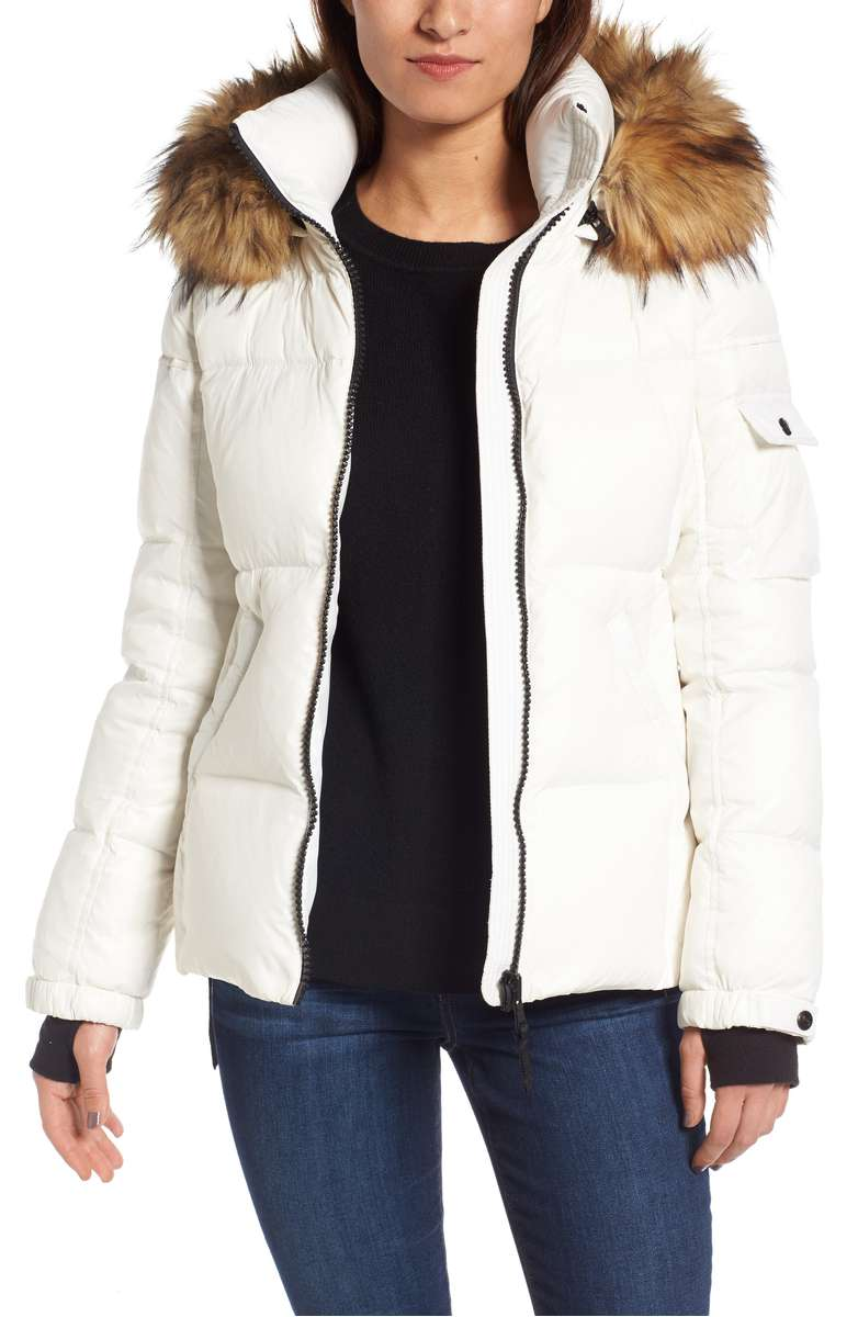 Kylie Faux Fur Hood