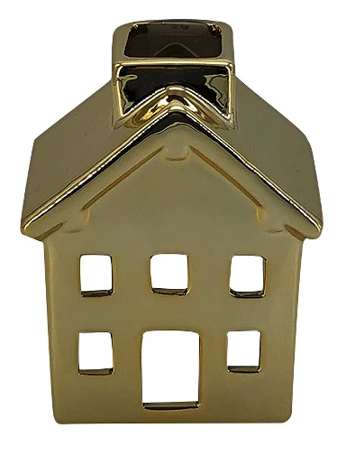 gold ceramic house Target