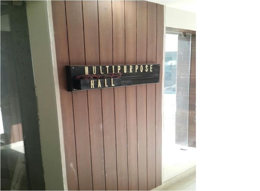Multi Purpose Hall - Entrance - WIP