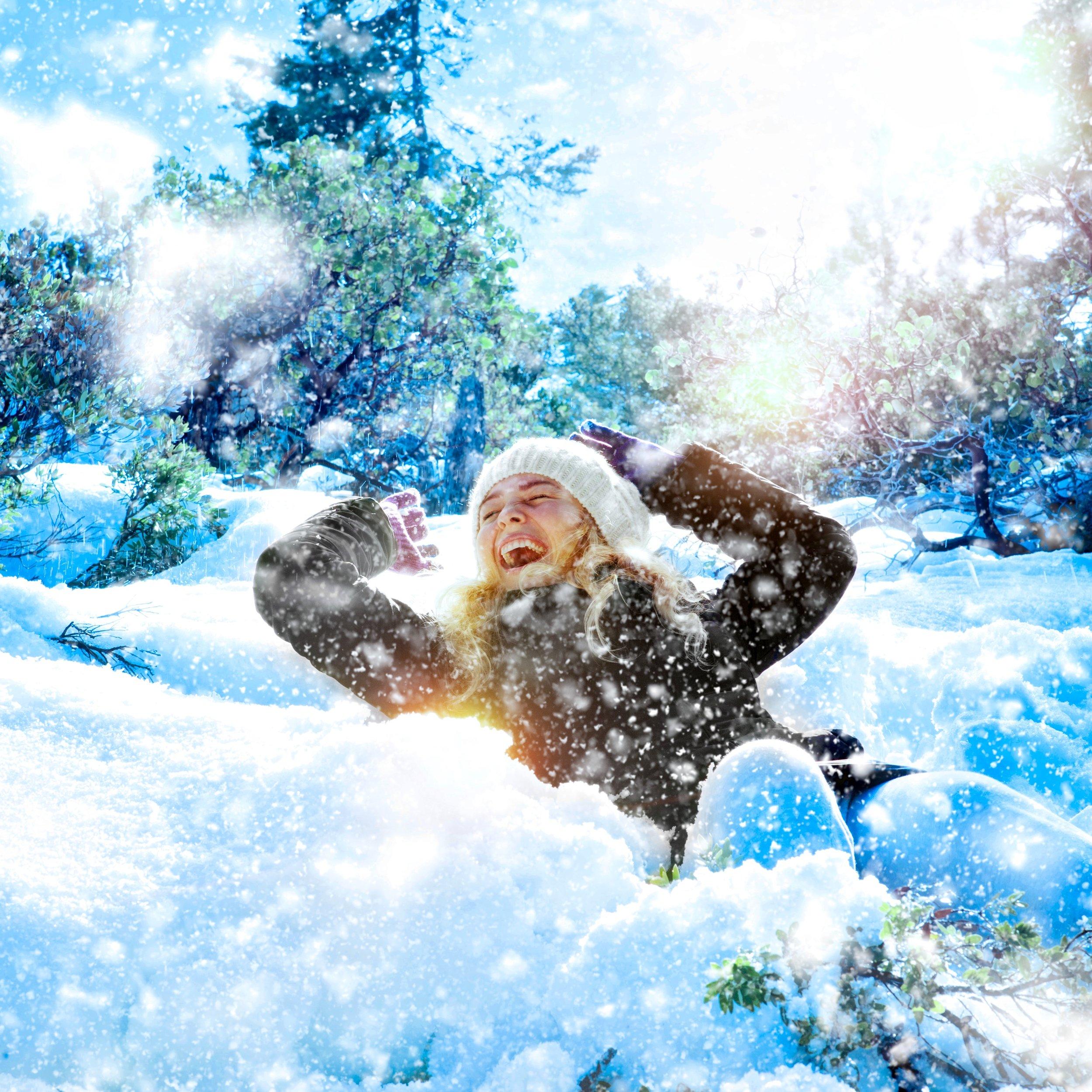 Happy Girl Snow Square.jpeg