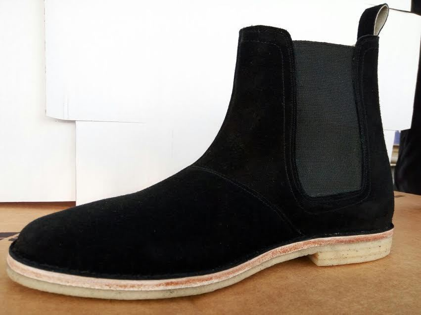 Mens Chelsea Suede Leather Ankle Boots