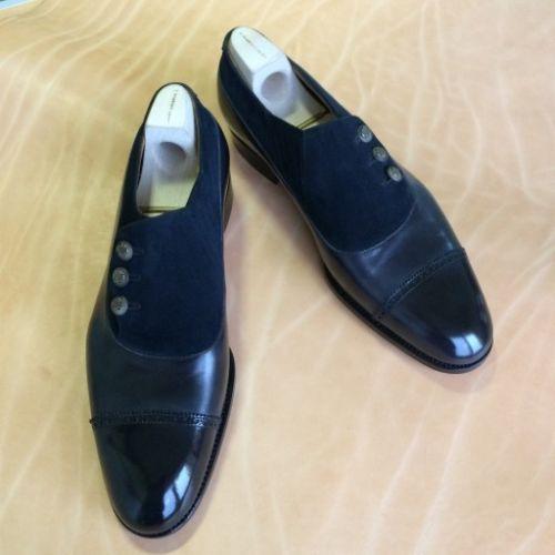 Men Black And Blue Formal Shoes FWS-268