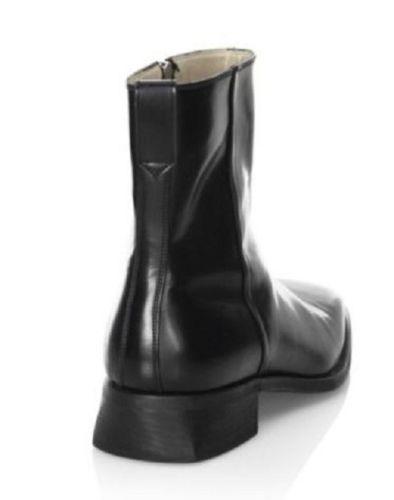 Men black High Ankle Fashion Side