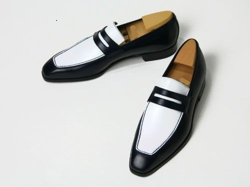 Men Fashion Spectator Shoes White And