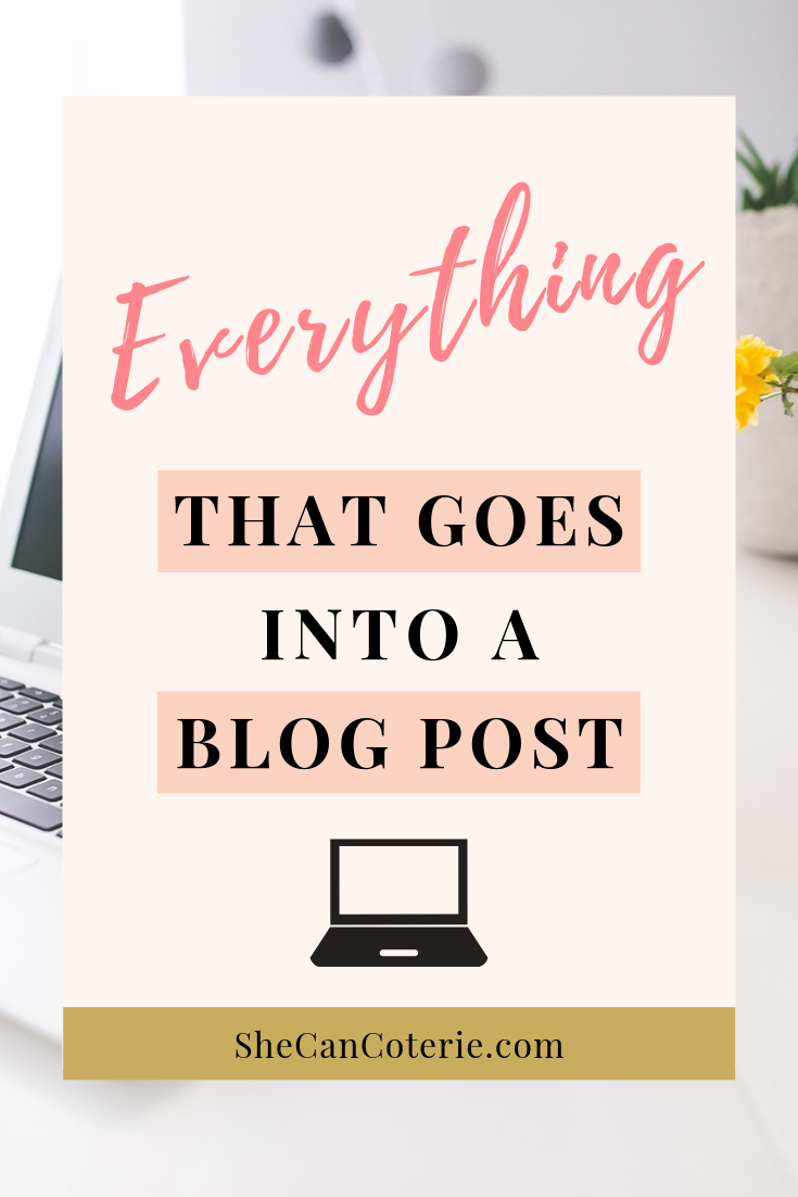 Not sure what needs to happen after you write your blog posts? She Can Coterie is helping you out by sharing 17 steps to a polished post! | SheCanCoterie.com