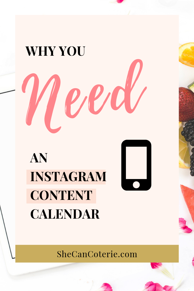 Instagram might be the most relevant social media platform out there right now. If you have your own biz or do some type of social media management for your job, then it is crucial to understand the importance and impact of Instagram. | SheCanCoterie.com