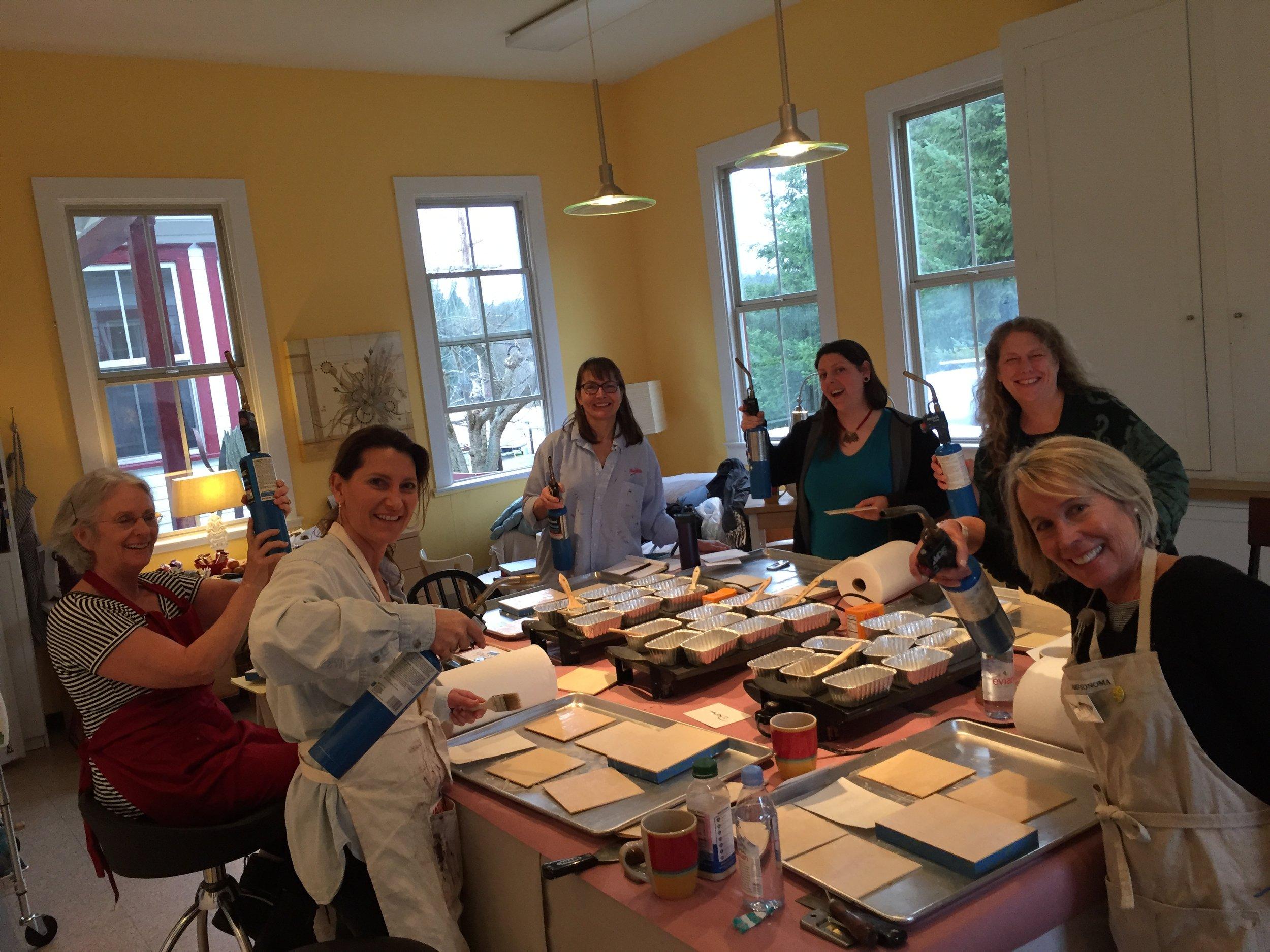 Encaustic Painting Workshop