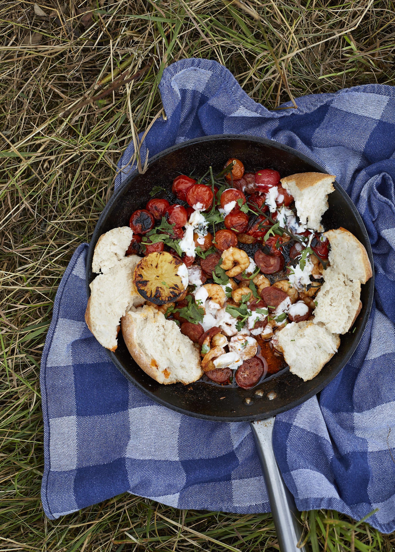 Prawn and Chorizo