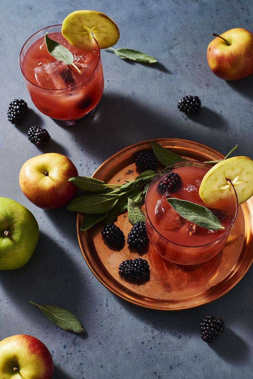 Blackberry, Apple Cider and Sage