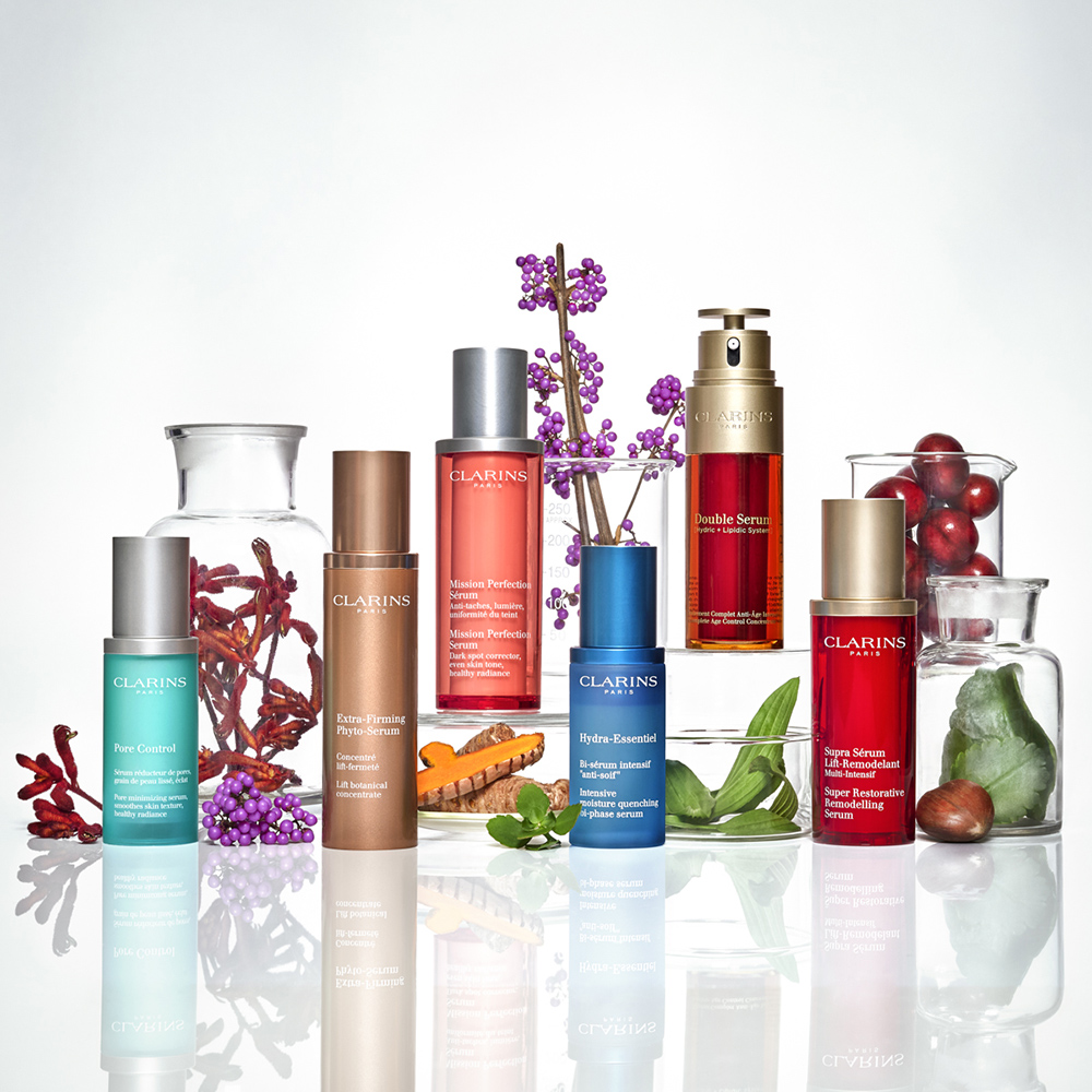 Beauty Still Life for Clarins