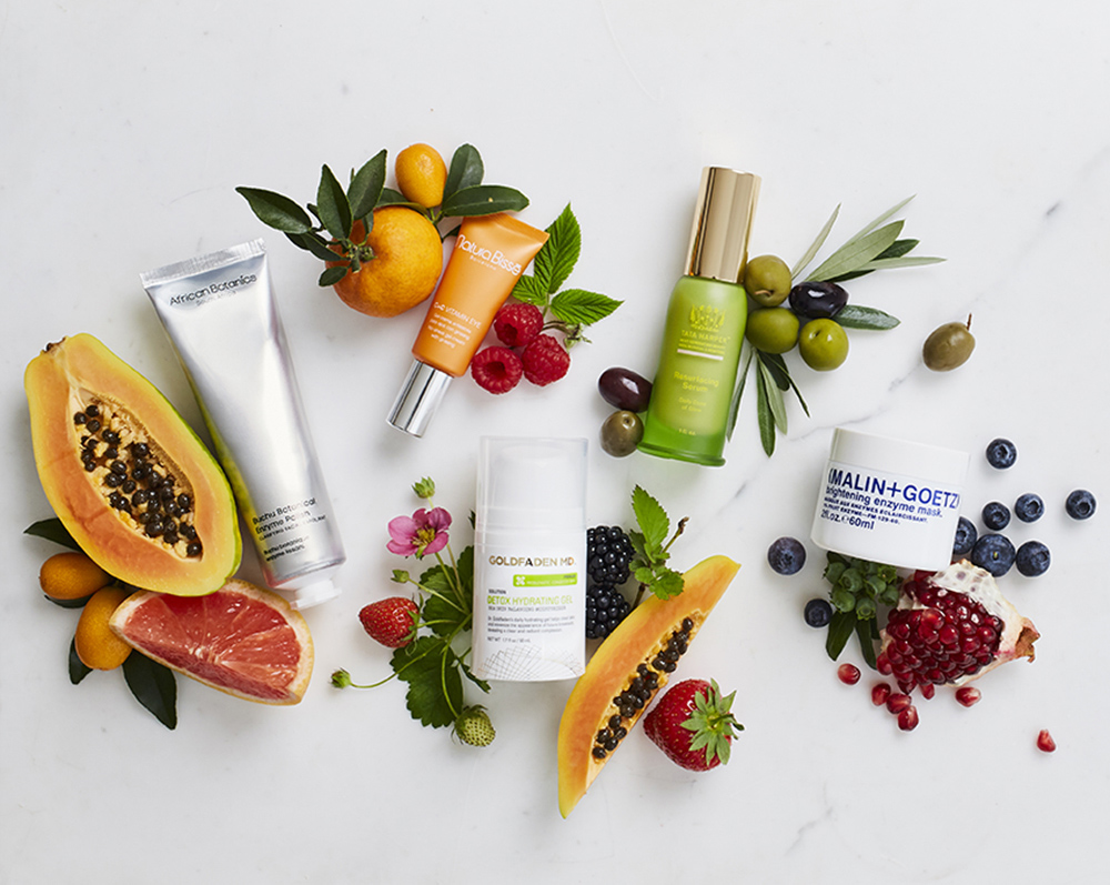 Natural Skincare Prop Styling for Space NK