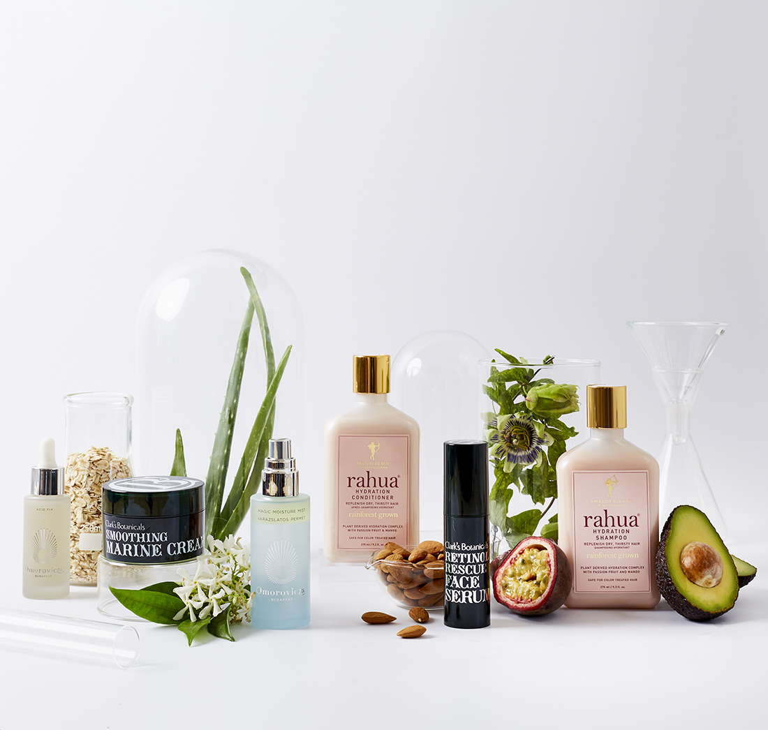 Science and Nature Beauty shoot for Space NK
