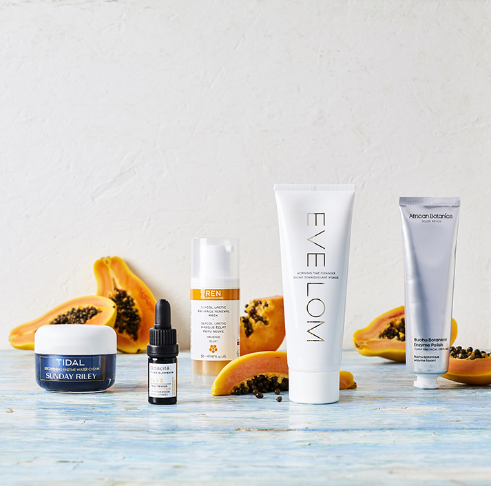 Papaya and Skincare for Space NK