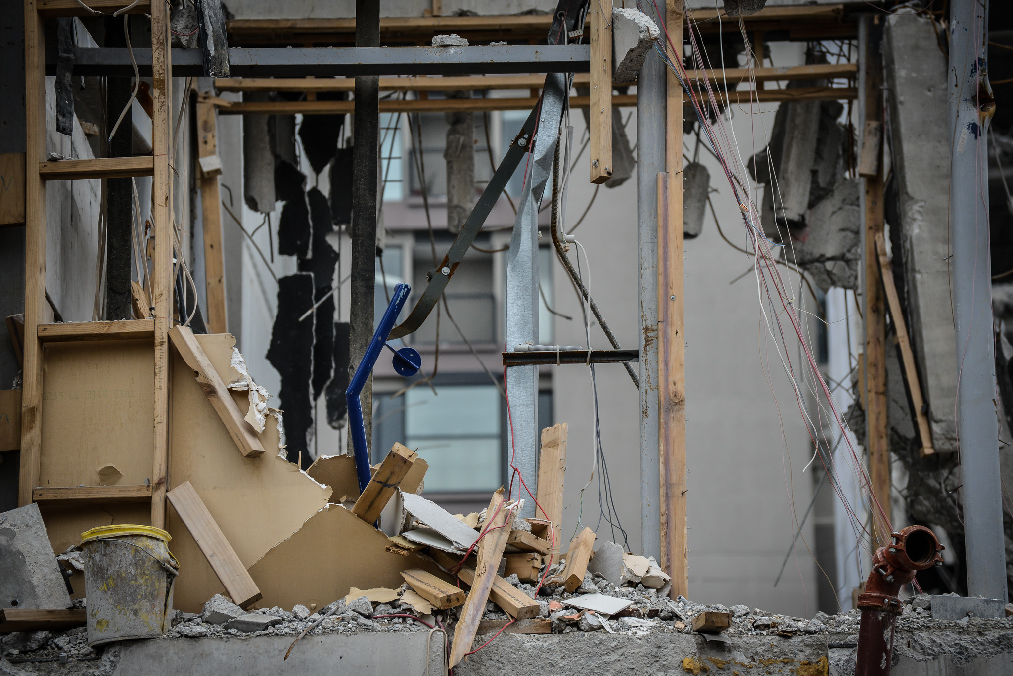 2011 Earthquake, Christchurch, New Zealand