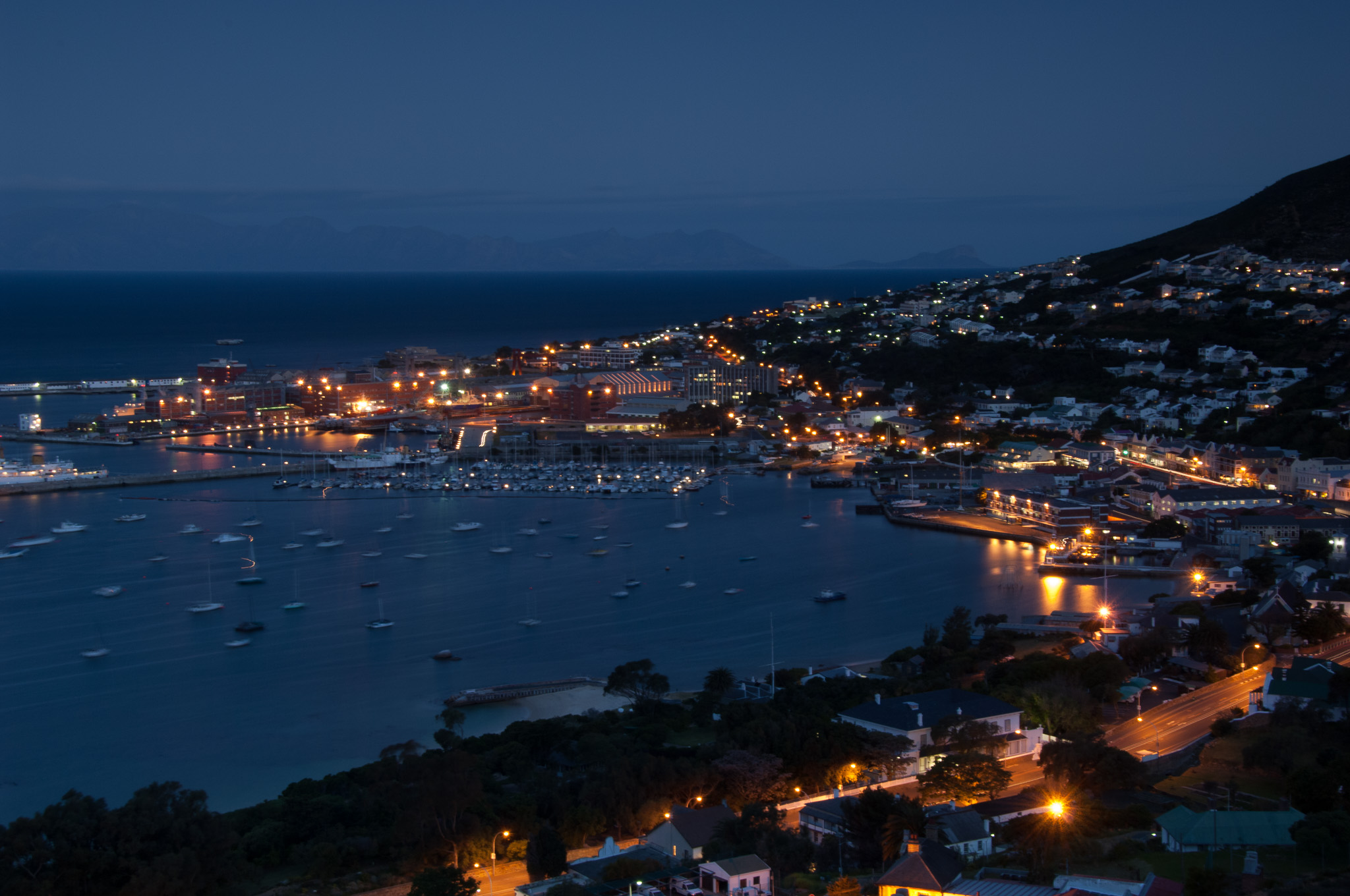 Simon's Town Harbour, South Africa